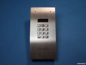 Cyfrowa centrala domofonowa ACO INSPIRO 1 (INOX)
